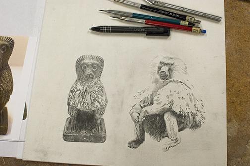 Baboon-Baboon in progress 2